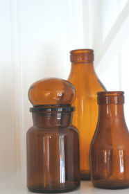 glasflaskor